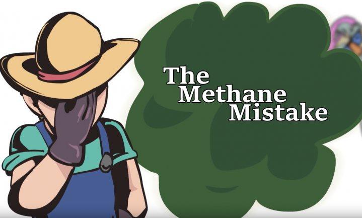 'Methaan van koeien is helemaal niet schadelijk'