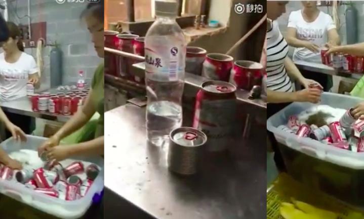Nep-Budweiser op de Chinese markt