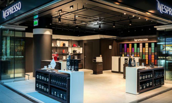 Nieuwe Nespresso Travel Boutiques op Schiphol en Utrecht CS
