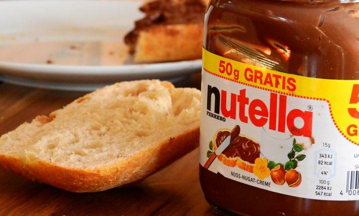 'Nutella is nu eenmaal geen dieetvoeding'