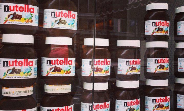 Minder Nutella zelfde prijs