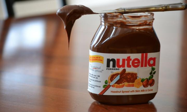 Grof stunten met Nutella mag niet meer in Frankrijk