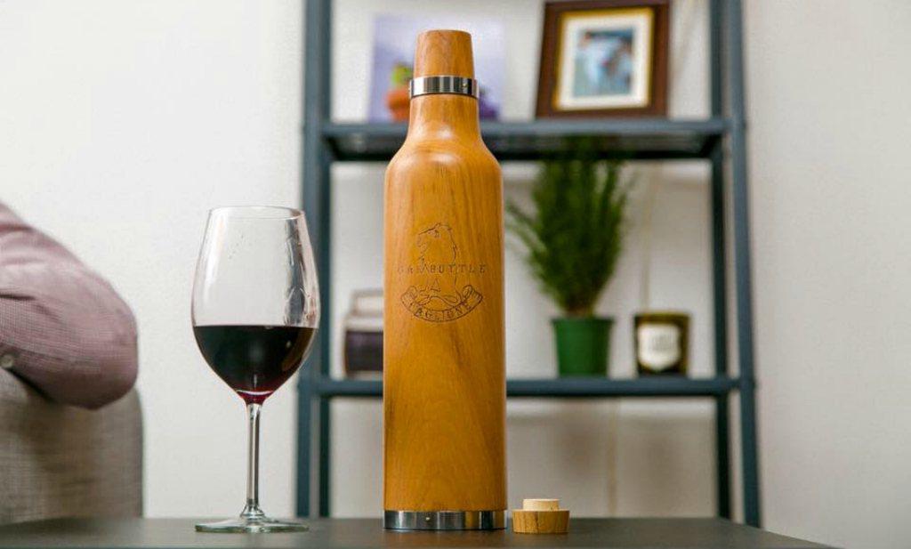 Van bocht naar vintage met de 'Oak Bottle'