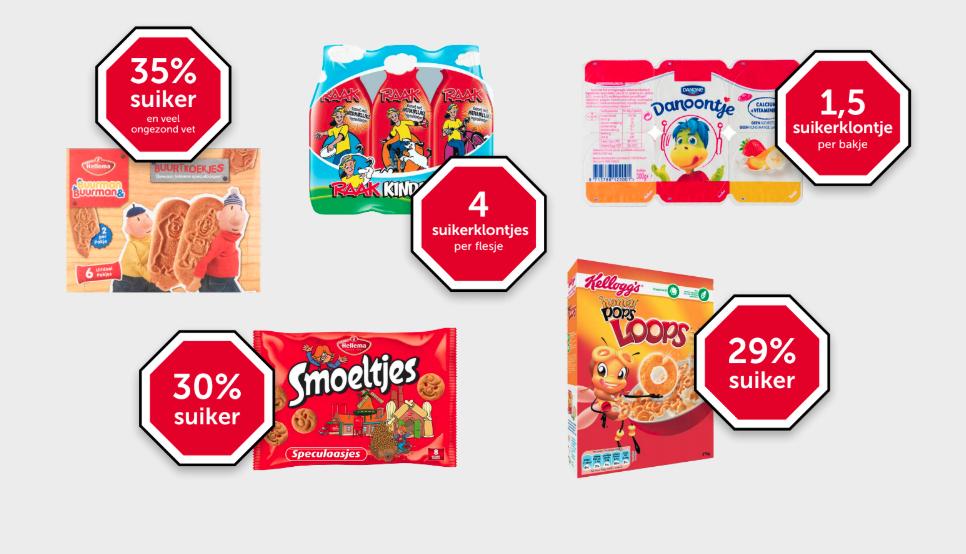 Alliantie Stop Kindermarketing: 'Reken definitief af met kindermarketing voor ongezonde producten!'