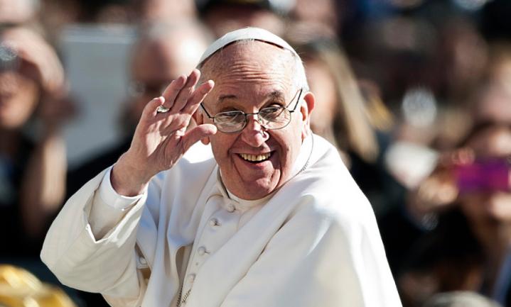 De Paus blijkt onduurzaam