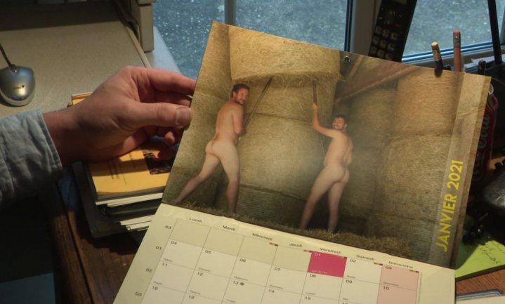 Naakte Franse boerenkalender