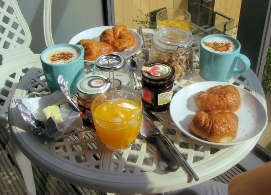 Fransen ontbijten steeds minder