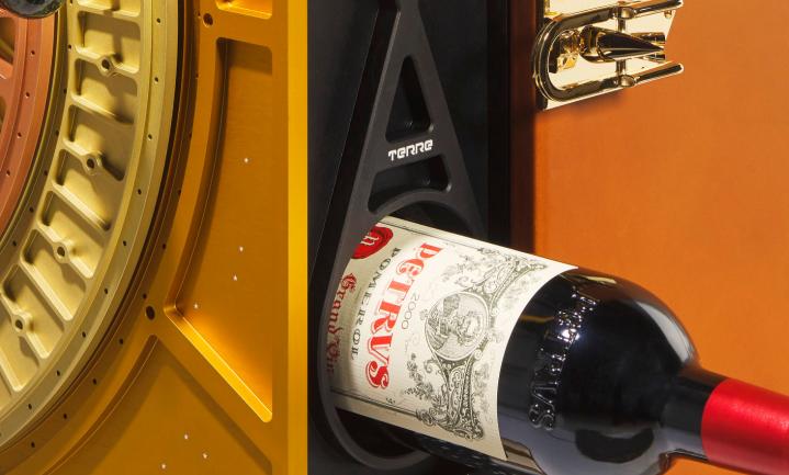 Buitenaardse wijn op de veiling
