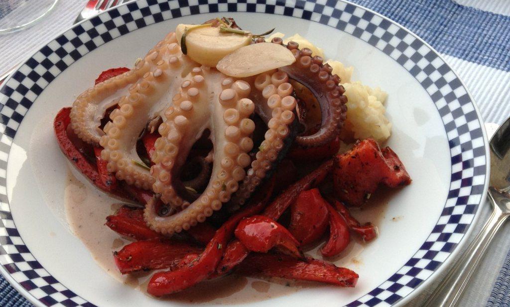 Octopus uit de tajine