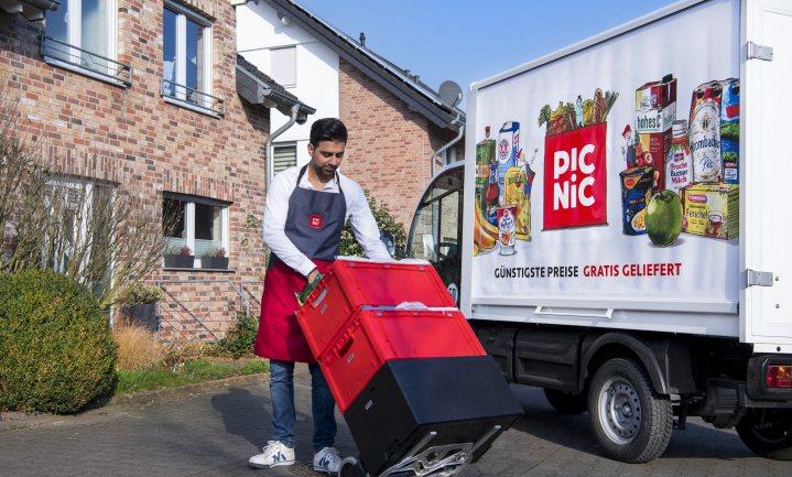 Picnic doet het in Duitsland met Edeka