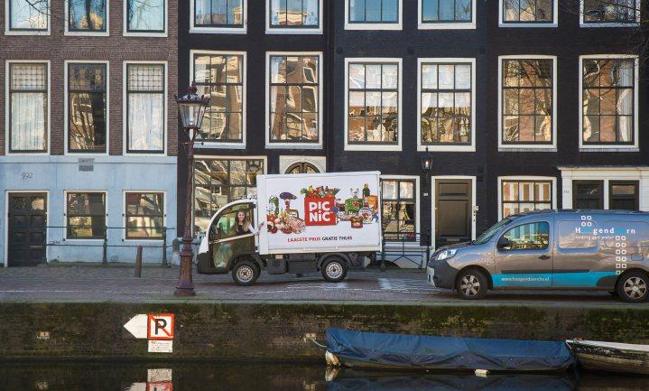 Picnic waagt zich aan Amsterdam