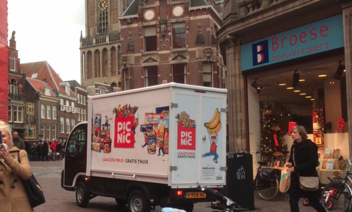 Online supermarkt Picnic grootste banenmotor van Nederland
