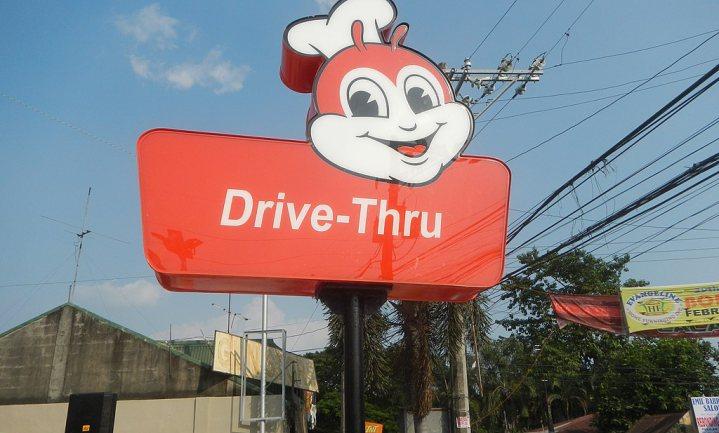 Pizzaloket voor automobilist