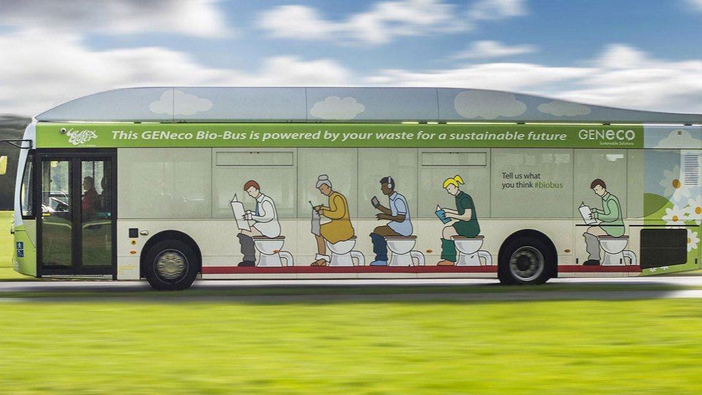 'Poop-power' voor Britse bussen