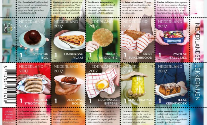 Geen Utrechtse Vockingworst op nieuwe postzegels