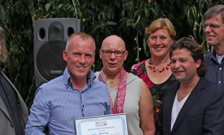 A.C. Hartman wint verkiezing 'Beste paprika van Nederland'