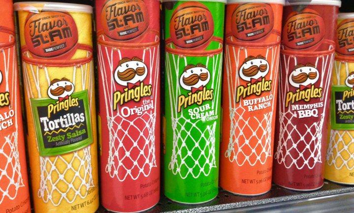 Verpakking Pringles 'ontworpen door een idioot'