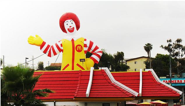 Krijgt u een goed gevoel van McDonald's?