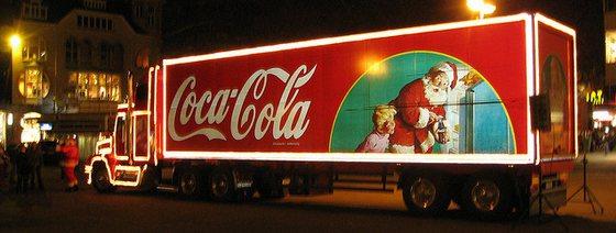 De Kerstman is uitgevonden door Coca-Cola