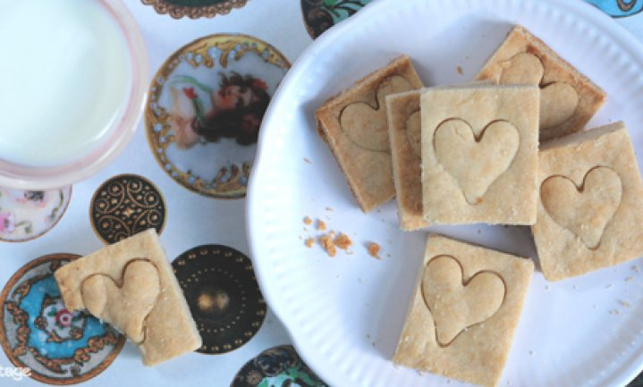 Op zoek naar de Engelse keuken: suikervrij shortbread
