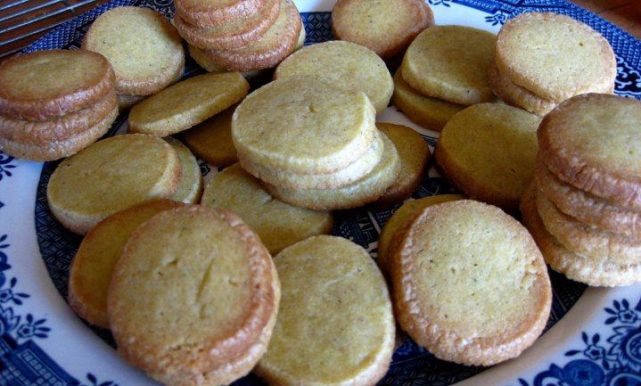 Ook vet moet uit de Engelse koekjes, niet alleen suiker