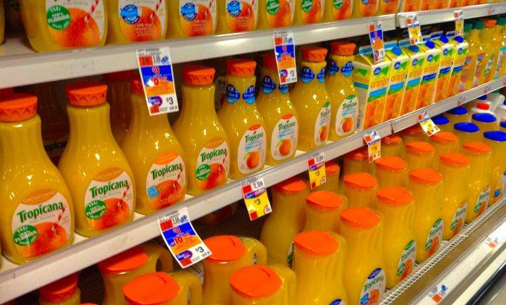 Bevroren sinaasappelsap mogelijk gezonder dan vers