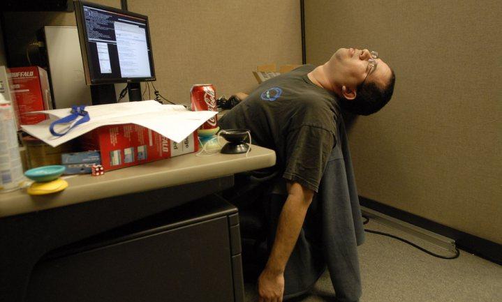 30 minuten minder slaap maakt al dikker