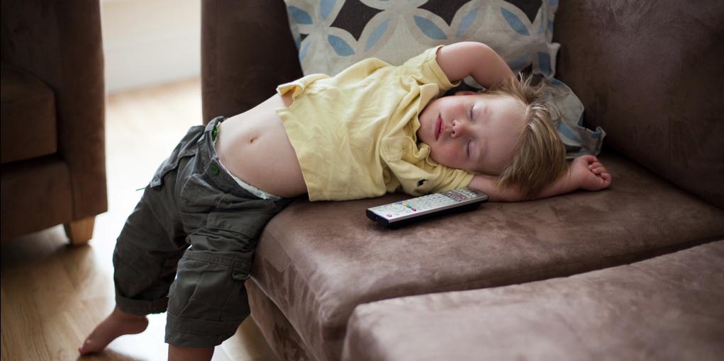 Minder TV, meer slaap, minder dik