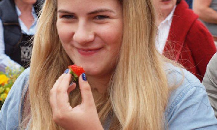 Hoe verkoop je aardbeien?