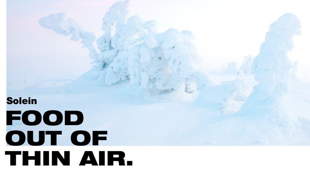 Leven van de lucht: 'landbouwvrij eiwit'