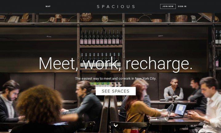 Start-up maakt deeltijd-kantoor van restaurants