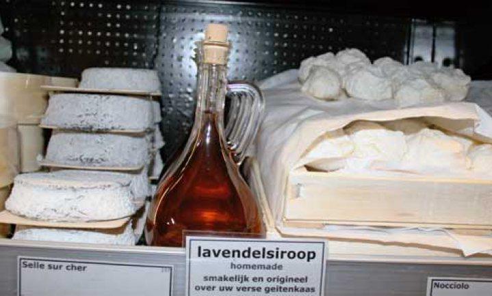 Laatste kans: lavendelsiroop met geitenkaas