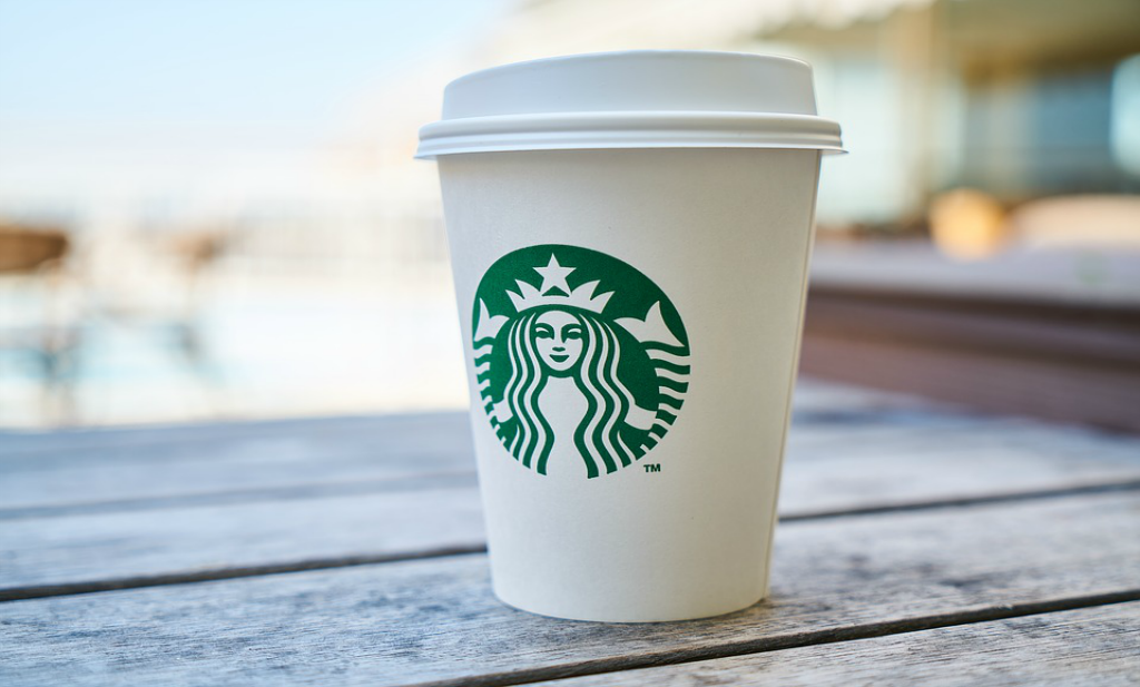 Alle koffie tijdens het vliegen op een rij