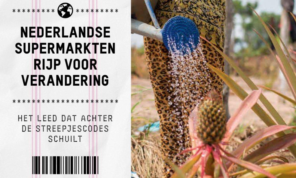 Oxfam Novib ziet leed achter de streepjescodes