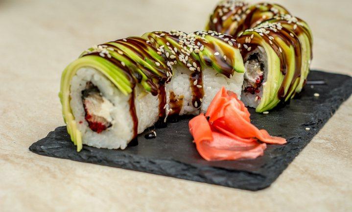 Sushi wordt niet koud