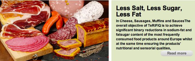Steeds onnatuurlijker producten door streven naar minder zout, vet en suiker