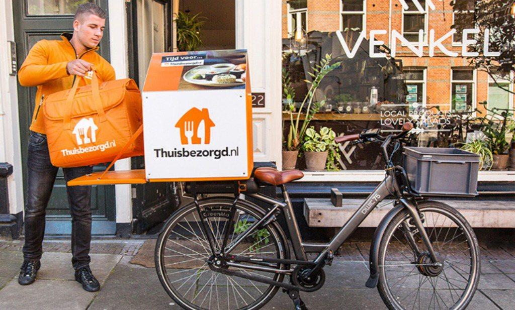 'Thuisbezorgd.nl is geen maaltijdbezorger'