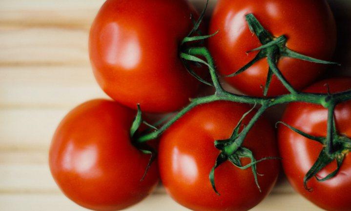 Vissige tomaten hadden het te koud