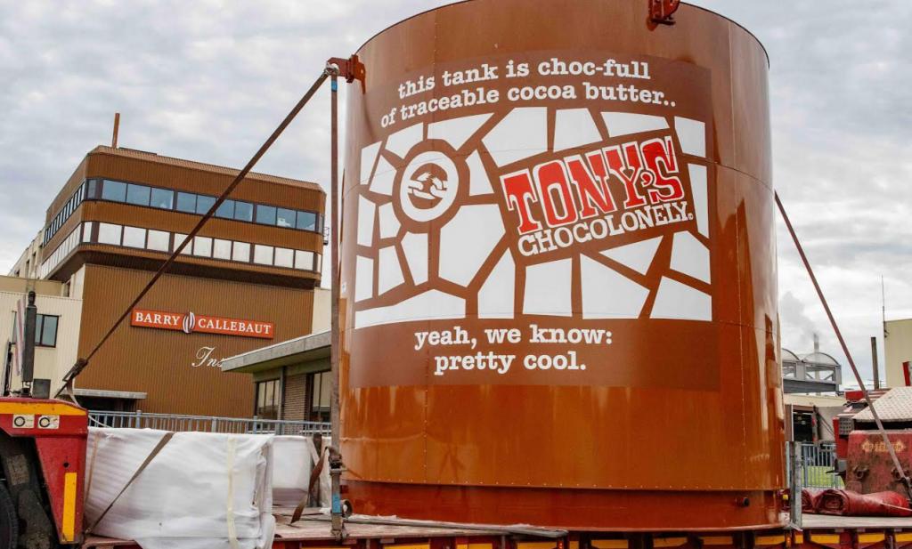 De eerste traceerbaar eerlijke chocolade