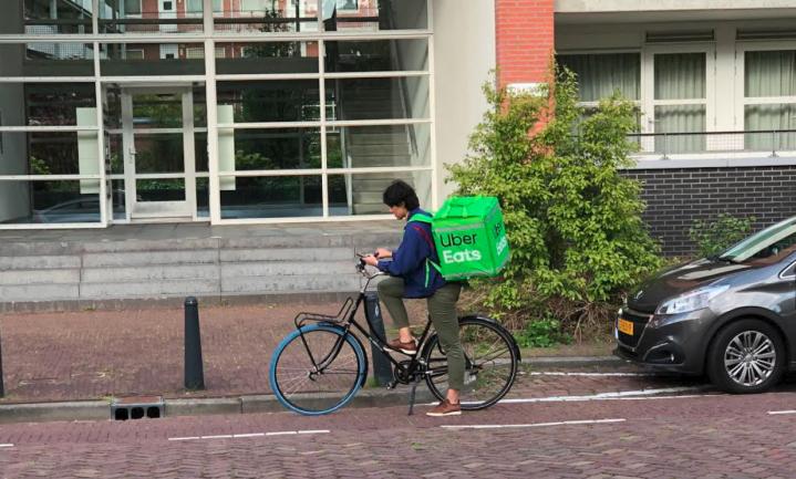 Geen Grubhub, dan maar Postmates voor Uber