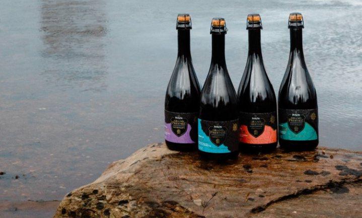 Hertog Jan rijpt bier op oude houten vaten van andere dranken