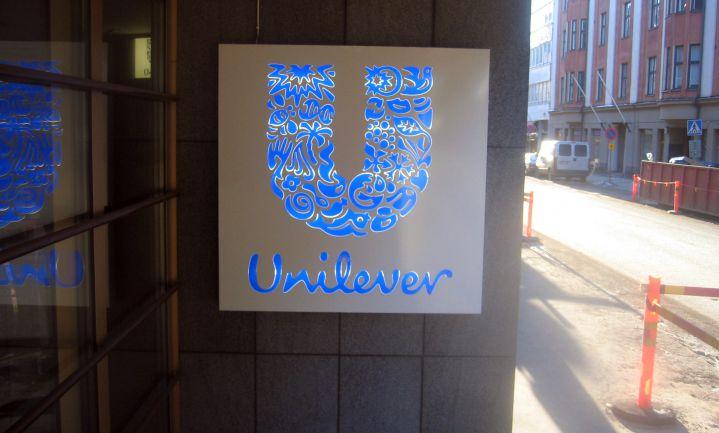 Verkopen producten Unilever omlaag