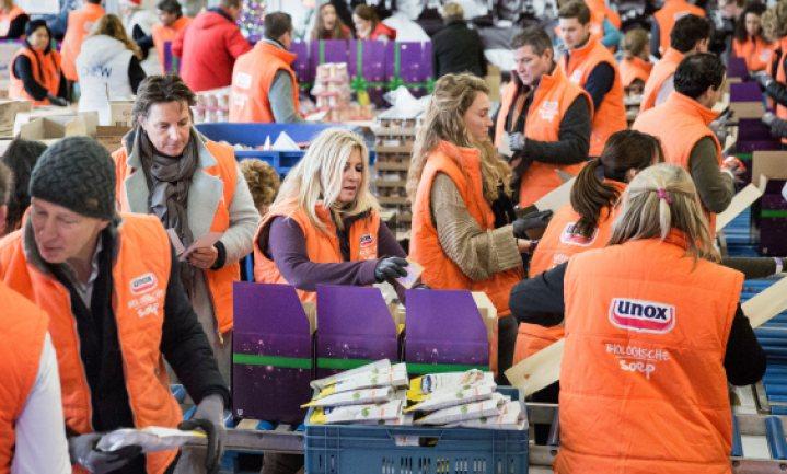 Unilever doneert €50.000 aan Voedselbanken Nederland
