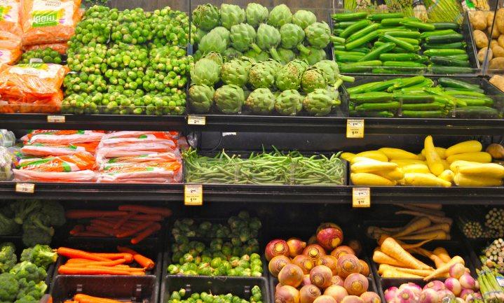 Belgen in 2015 duurder uit voor minder groente en fruit