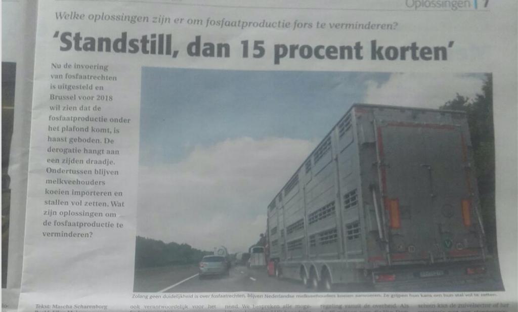 'Boeren zelf schuldig aan crisis'