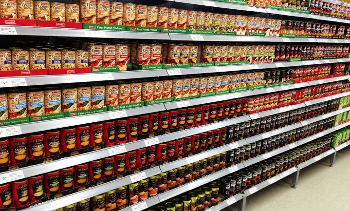 Stijgende afzetprijzen levensmiddelenindustrie