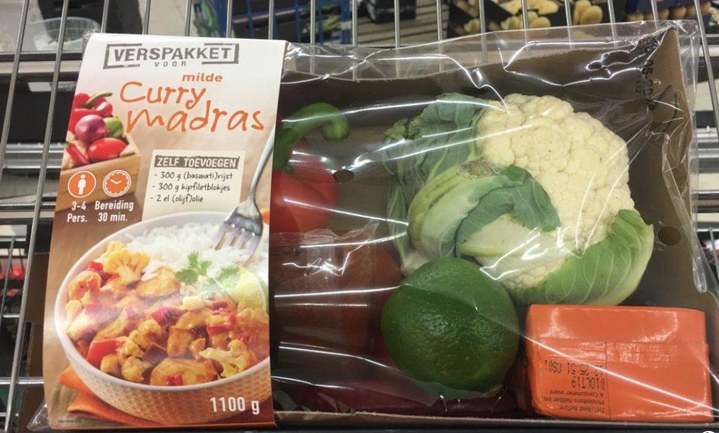 Verspakketten (stukken) goedkoper dan losse ingrediënten