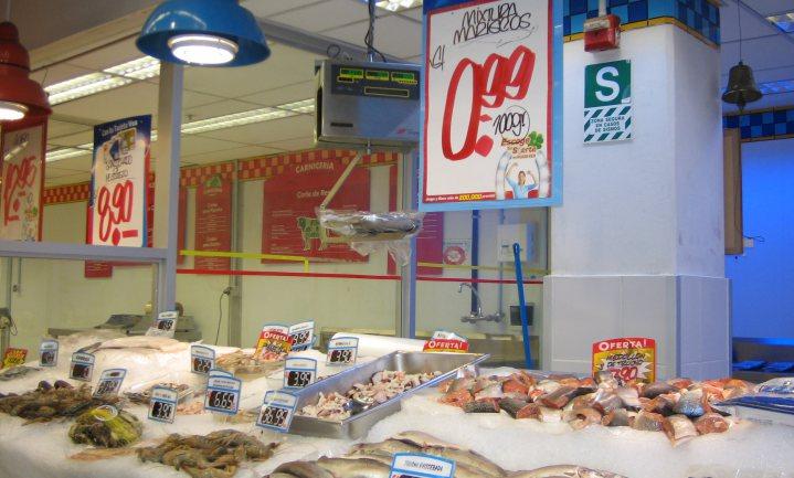 Vlaamse supermarkten winnen aandeel in vis
