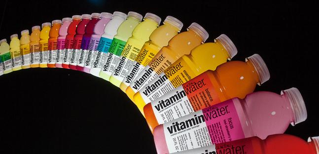Vitaminwater mag van de rechter voor de rechter