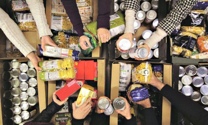 Belgische voedselbank stopt omdat klanten voedsel weggooien